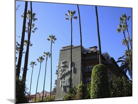 Beverly Hills Hotel, Beverly Hills, Los Angeles, California, Usa-Wendy Connett-Mounted Photographic Print