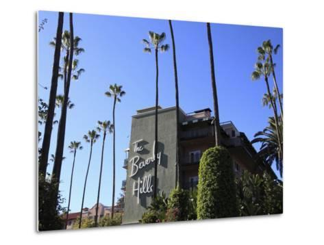 Beverly Hills Hotel, Beverly Hills, Los Angeles, California, Usa-Wendy Connett-Metal Print
