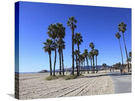 Santa Monica, Los Angeles, California, Usa-Wendy Connett-Stretched Canvas Print