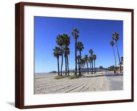 Santa Monica, Los Angeles, California, Usa-Wendy Connett-Framed Art Print
