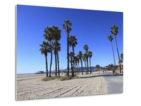 Santa Monica, Los Angeles, California, Usa-Wendy Connett-Metal Print