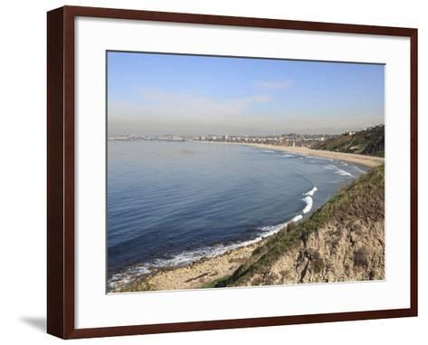 Palos Verdes, Peninsula on the Pacific Ocean, Los Angeles, California, USA, North America-Wendy Connett-Framed Art Print