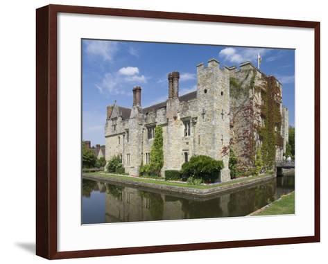 Hever Castle, Dating from the 13th Century, Childhood Home of Anne Boleyn, Kent, England, UK-James Emmerson-Framed Art Print
