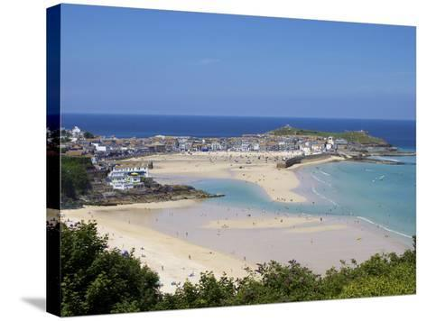 St. Ives, Cornwall, England, United Kingdom, Europe-Jeremy Lightfoot-Stretched Canvas Print
