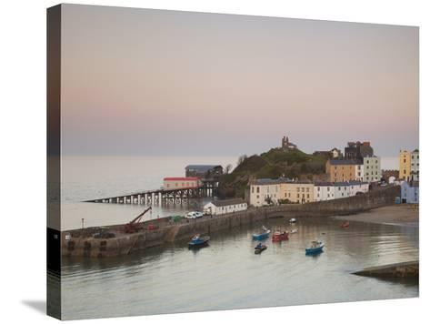 Tenby Harbour, Tenby, Pembrokeshire, Wales, United Kingdom, Europe-Billy Stock-Stretched Canvas Print