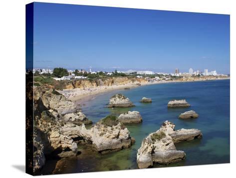 Praia Do Vau, Portimao, Algarve, Portugal, Europe-Jeremy Lightfoot-Stretched Canvas Print