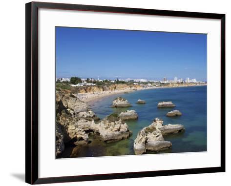 Praia Do Vau, Portimao, Algarve, Portugal, Europe-Jeremy Lightfoot-Framed Art Print