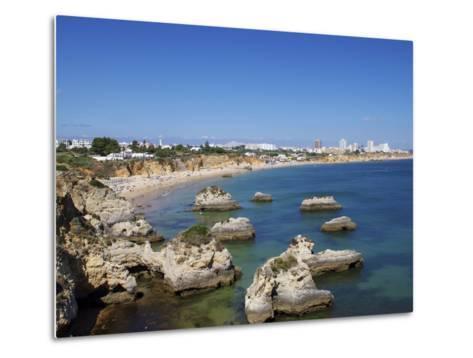 Praia Do Vau, Portimao, Algarve, Portugal, Europe-Jeremy Lightfoot-Metal Print