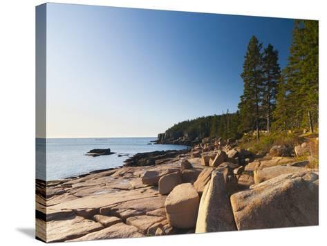 Acadia National Park, Mount Desert Island, Maine, New England, USA, North America-Alan Copson-Stretched Canvas Print