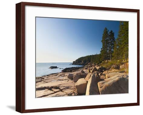 Acadia National Park, Mount Desert Island, Maine, New England, USA, North America-Alan Copson-Framed Art Print