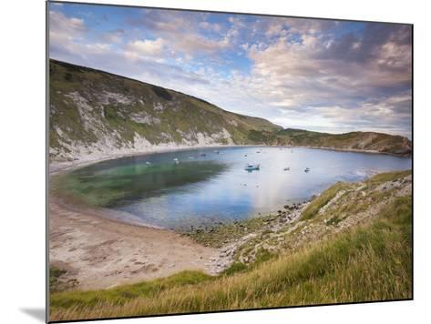 Lulworth Cove, Perfect Horseshoe-Shaped Bay, UNESCO World Heritage Site, Dorset, England-Neale Clarke-Mounted Photographic Print