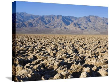 Devils Golf Course, Death Valley National Park, California, United States of America, North America-Richard Cummins-Stretched Canvas Print