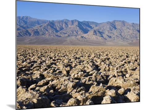 Devils Golf Course, Death Valley National Park, California, United States of America, North America-Richard Cummins-Mounted Photographic Print