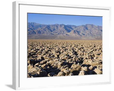 Devils Golf Course, Death Valley National Park, California, United States of America, North America-Richard Cummins-Framed Art Print