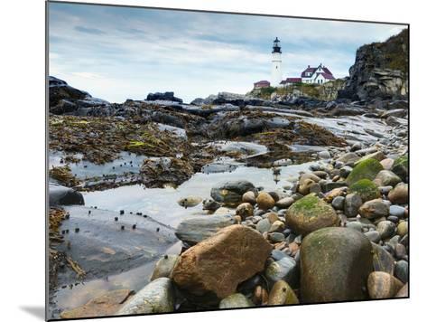 Portland Head Lighthouse, Portland, Maine, New England, United States of America, North America-Alan Copson-Mounted Photographic Print