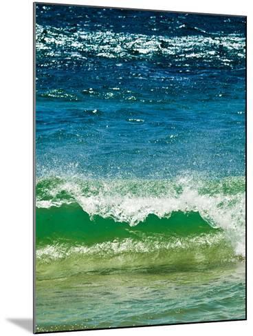 Small Green Wave, Strait of Gibraltar, El Estrecho Nat'l Park Tarifa, Costa de La Luz, Spain-Giles Bracher-Mounted Photographic Print