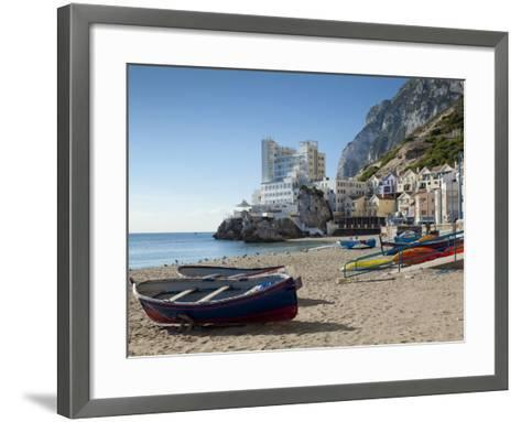 The Caleta Hotel, Catalan Bay, Gibraltar, Europe-Giles Bracher-Framed Art Print