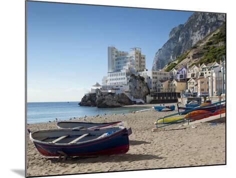 The Caleta Hotel, Catalan Bay, Gibraltar, Europe-Giles Bracher-Mounted Photographic Print