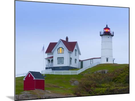 Cape Neddick (The Nubble) Lighthouse, Cape Neddick, Maine, New England, USA, North America-Alan Copson-Mounted Photographic Print