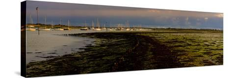 The Old Road, Emsworth, Chichester Harbour, West Sussex, England, United Kingdom, Europe-Giles Bracher-Stretched Canvas Print