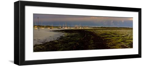 The Old Road, Emsworth, Chichester Harbour, West Sussex, England, United Kingdom, Europe-Giles Bracher-Framed Art Print