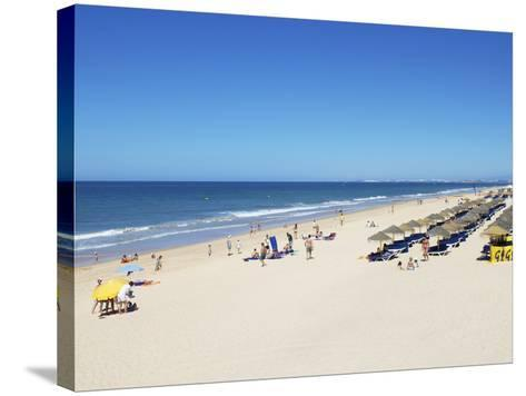 Quinta Do Lago Beach, Algarve, Portugal, Europe-Jeremy Lightfoot-Stretched Canvas Print