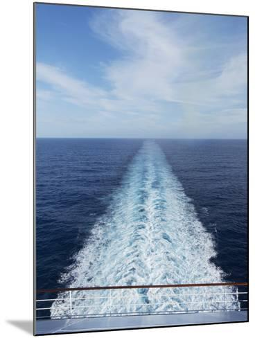 Cruise Ship, Bahamas, West Indies, Caribbean, Central America-Angelo Cavalli-Mounted Photographic Print