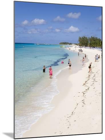 White Sands Beach, Grand Turk Island, Turks and Caicos Islands, West Indies, Caribbean-Richard Cummins-Mounted Photographic Print