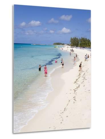 White Sands Beach, Grand Turk Island, Turks and Caicos Islands, West Indies, Caribbean-Richard Cummins-Metal Print
