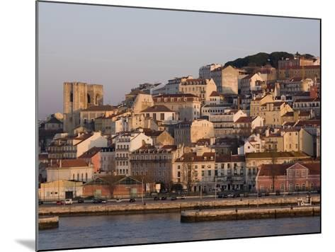Cathedral and Alfama District at Dawn, Lisbon, Portugal, Europe-Rolf Richardson-Mounted Photographic Print