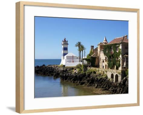 Lighthouse, Cascais, Portugal, Europe-Jeremy Lightfoot-Framed Art Print