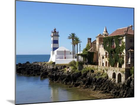 Lighthouse, Cascais, Portugal, Europe-Jeremy Lightfoot-Mounted Photographic Print