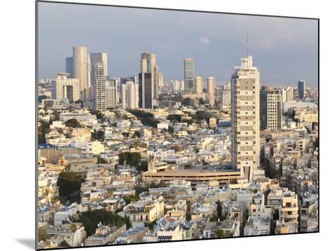 Elevated City View Towards the Commercial and Business Centre, Tel Aviv, Israel, Middle East-Gavin Hellier-Mounted Photographic Print