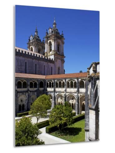 The Monastery, Alcobaca, UNESCO World Heritage Site, Portugal, Europe-Jeremy Lightfoot-Metal Print