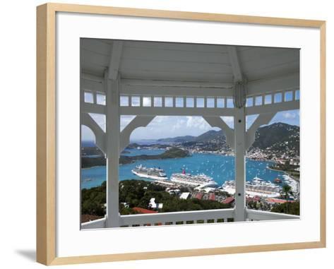 Charlotte Amalie, St. Thomas, U.S. Virgin Islands, West Indies, Caribbean, Central America-Angelo Cavalli-Framed Art Print