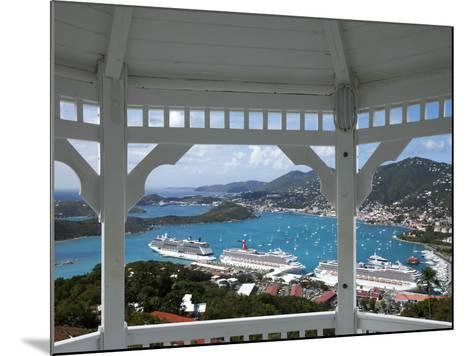 Charlotte Amalie, St. Thomas, U.S. Virgin Islands, West Indies, Caribbean, Central America-Angelo Cavalli-Mounted Photographic Print