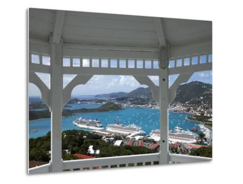 Charlotte Amalie, St. Thomas, U.S. Virgin Islands, West Indies, Caribbean, Central America-Angelo Cavalli-Metal Print