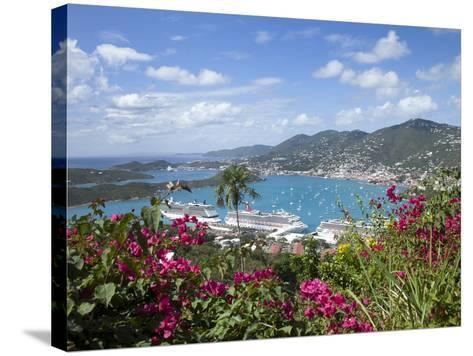Charlotte Amalie, St. Thomas, U.S. Virgin Islands, West Indies, Caribbean, Central America-Angelo Cavalli-Stretched Canvas Print