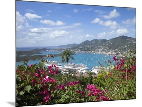 Charlotte Amalie, St. Thomas, U.S. Virgin Islands, West Indies, Caribbean, Central America-Angelo Cavalli-Mounted Photographic Print
