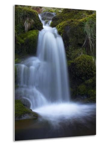Waterfall, Glen Artney, Near Crieff, Perthshire, Scotland, United Kingdom, Europe-Jeremy Lightfoot-Metal Print