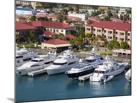 Yacht Haven Grande Marina, Charlotte Amalie, St. Thomas Island, U.S. Virgin Islands, West Indies-Richard Cummins-Mounted Photographic Print