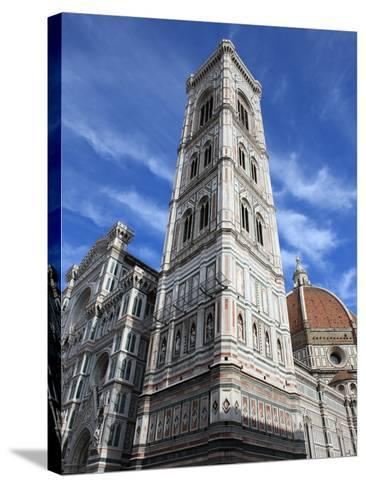 Giotto Bell Tower and Santa Maria del Fiore Cathedral, Florence, UNESCO World Heritage Site, Italy-Vincenzo Lombardo-Stretched Canvas Print