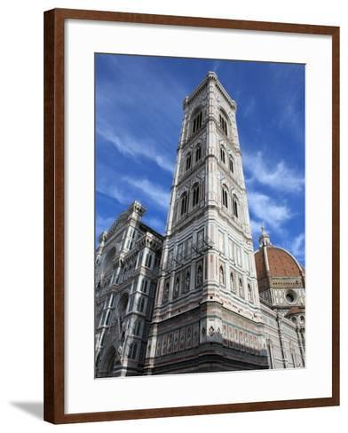 Giotto Bell Tower and Santa Maria del Fiore Cathedral, Florence, UNESCO World Heritage Site, Italy-Vincenzo Lombardo-Framed Art Print