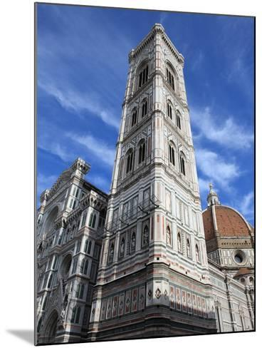 Giotto Bell Tower and Santa Maria del Fiore Cathedral, Florence, UNESCO World Heritage Site, Italy-Vincenzo Lombardo-Mounted Photographic Print