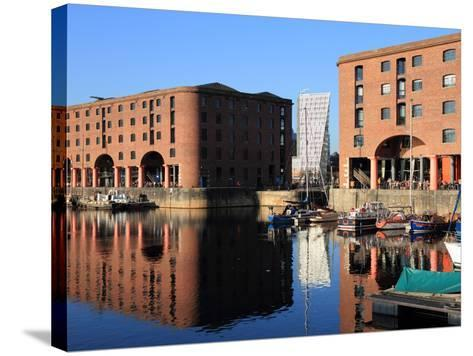 Albert Dock, Liverpool, Merseyside, England, United Kingdom, Europe-Rolf Richardson-Stretched Canvas Print