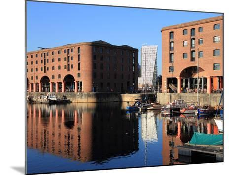 Albert Dock, Liverpool, Merseyside, England, United Kingdom, Europe-Rolf Richardson-Mounted Photographic Print