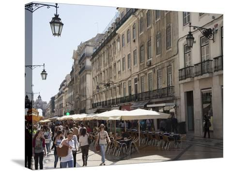 The Old Town, Lisbon, Portugal, Europe-Angelo Cavalli-Stretched Canvas Print