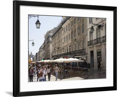 The Old Town, Lisbon, Portugal, Europe-Angelo Cavalli-Framed Art Print