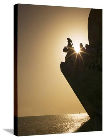 Monument to Discoveries, Belem, Lisbon, Portugal, Europe-Angelo Cavalli-Stretched Canvas Print