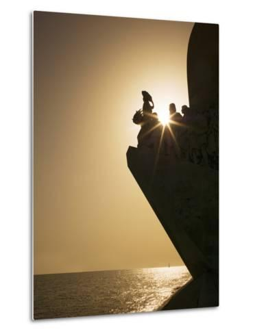 Monument to Discoveries, Belem, Lisbon, Portugal, Europe-Angelo Cavalli-Metal Print